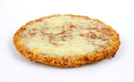 Pizza de fromage simple de portion Images libres de droits