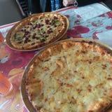 Pizza stock foto's