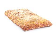 Pizza de la escuela Fotos de archivo libres de regalías