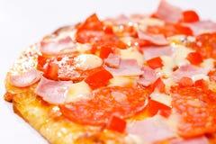 Pizza de la estufa Fotos de archivo libres de regalías