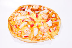 Pizza de la estufa Foto de archivo