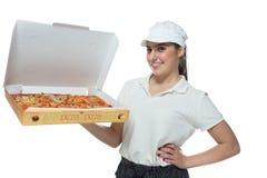 Pizza de la pizza Imágenes de archivo libres de regalías