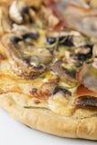 Pizza de la seta imagen de archivo libre de regalías