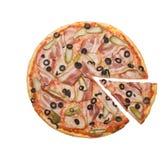 Pizza de lard Photo libre de droits