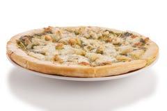 Pizza de los mariscos Imágenes de archivo libres de regalías