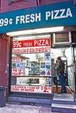 Pizza de Nueva York Imágenes de archivo libres de regalías