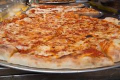 Pizza de NYC Fotografía de archivo