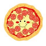 Pizza de Pepperoni Fotos de Stock