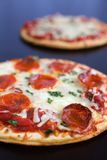 Pizza de Pepperoni Foto de Stock Royalty Free