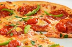 Pizza de pepperoni Image libre de droits