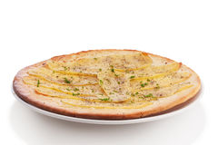 Pizza de pomme de terre Photos stock