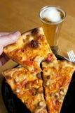 Pizza de poulet de Buffalo Image libre de droits