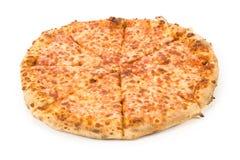 Pizza de queso Imagen de archivo libre de regalías
