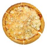 Pizza de queso Foto de archivo libre de regalías