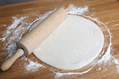 Pizza de roulement Photo libre de droits