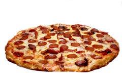 Pizza de salchichones Foto de archivo libre de regalías