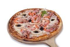 Pizza de Seefood Imagem de Stock Royalty Free