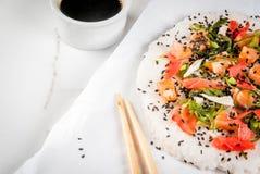 Pizza de sushi photo libre de droits