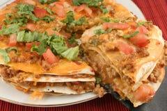 Pizza de Taco photos stock