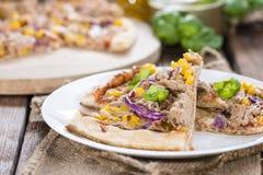 Pizza de thon Photos libres de droits