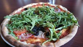 Pizza de Veggie Image libre de droits