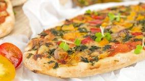 Pizza de Veggie Photographie stock libre de droits