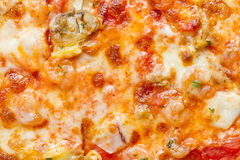Pizza dei frutti di mare Fotografia Stock Libera da Diritti
