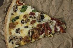 Pizza del artesano Imagen de archivo libre de regalías