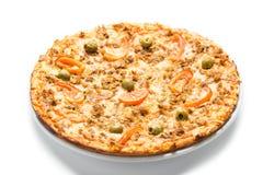 Pizza del atún Fotos de archivo