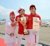 Pizza 2014 del campeonato del mundo Imagenes de archivo