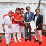 Pizza 2014 del campeonato del mundo Fotos de archivo libres de regalías