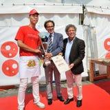 Pizza 2014 del campeonato del mundo Imágenes de archivo libres de regalías