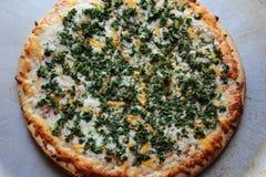 Pizza del cavolo fotografia stock libera da diritti