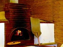 pizza del forno Fotografia Stock