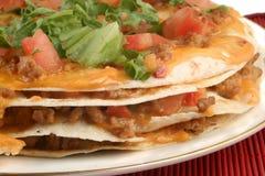 Pizza del Taco fotos de archivo libres de regalías