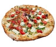 Pizza del tocino Imagen de archivo libre de regalías