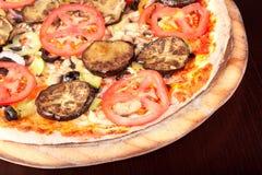 Pizza del tomate Fotografía de archivo