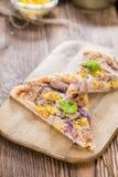 Pizza del tonno Immagini Stock