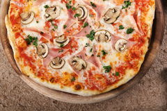 Pizza deliciosa Imágenes de archivo libres de regalías