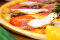 Pizza deliciosa Imagen de archivo