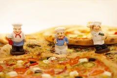 Pizza deliciosa fotografia de stock royalty free