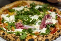 Pizza deliciosa italiana imagem de stock