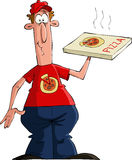 Pizza delivery stock illustration