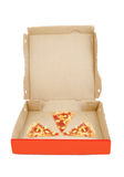 Pizza delivery box Royalty Free Stock Image
