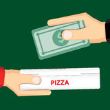 Pizza delivery design Stock Photo