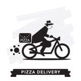 Pizza Delivery Service, Vector icon. Stock Photos