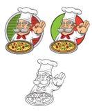 Pizza deliziosa Fotografia Stock