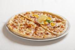 Pizza deliziosa Immagini Stock