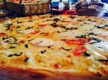 Pizza della margarita Fotografie Stock