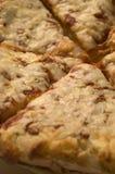 Pizza des Käses vier lizenzfreies stockbild